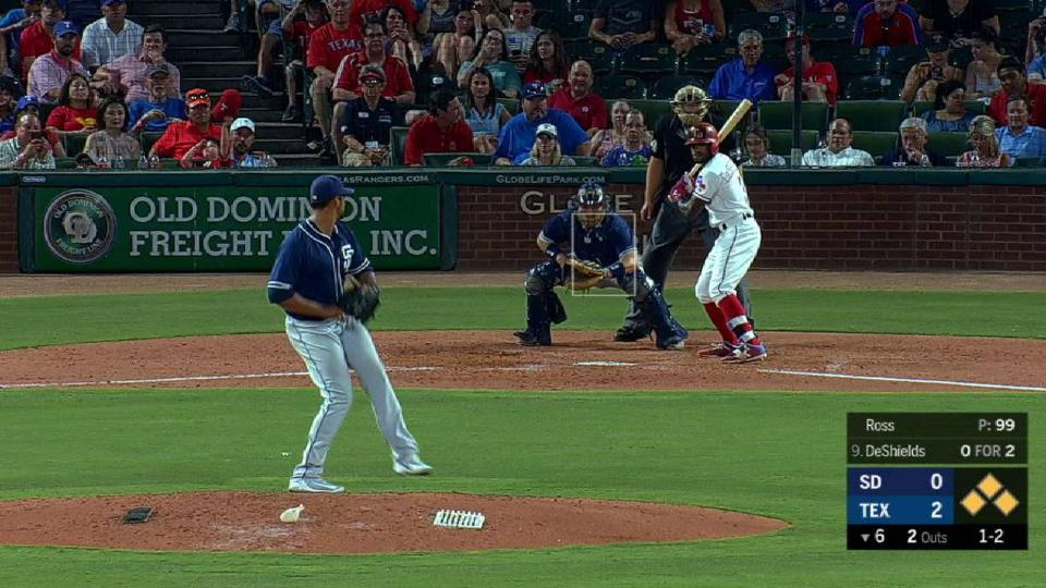 Ross escapes a bases-loaded jam
