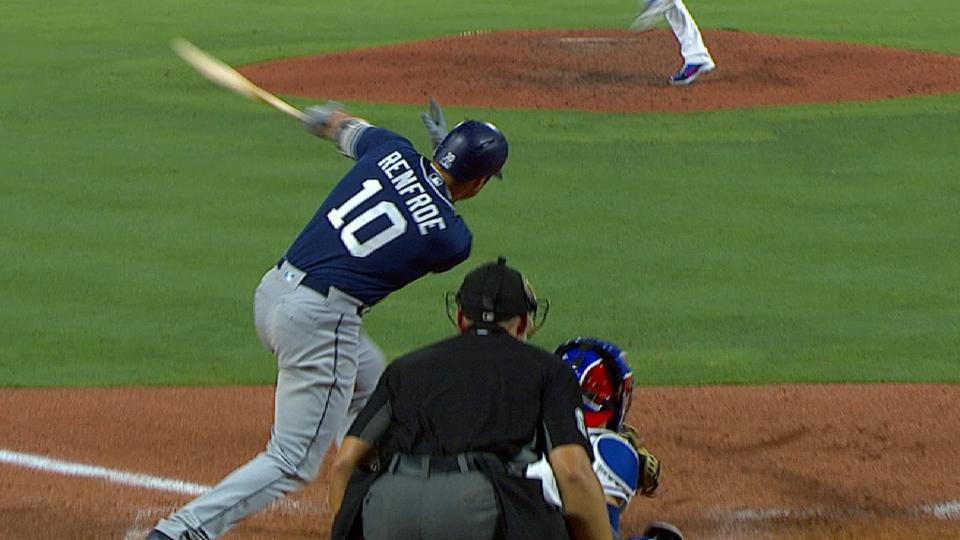 Renfroe pone arriba a Padres
