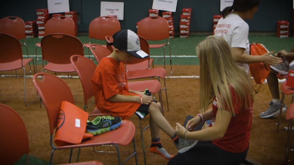 Reds support Cleats For Kids