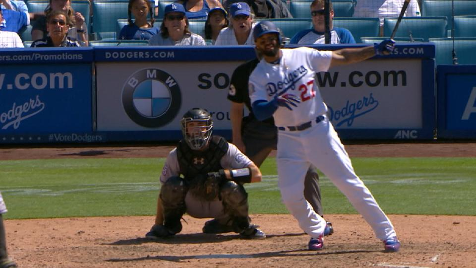 Kemp se luce al bate