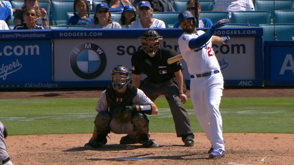Kemp clutch in 4-RBI day