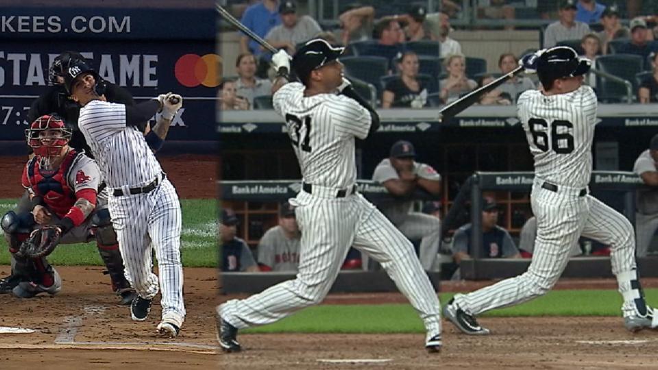 Yankees castigan con 6 HR