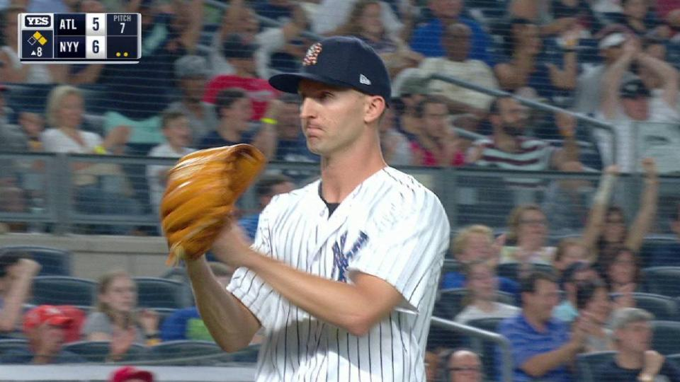 Shreve strands a pair in the 8th