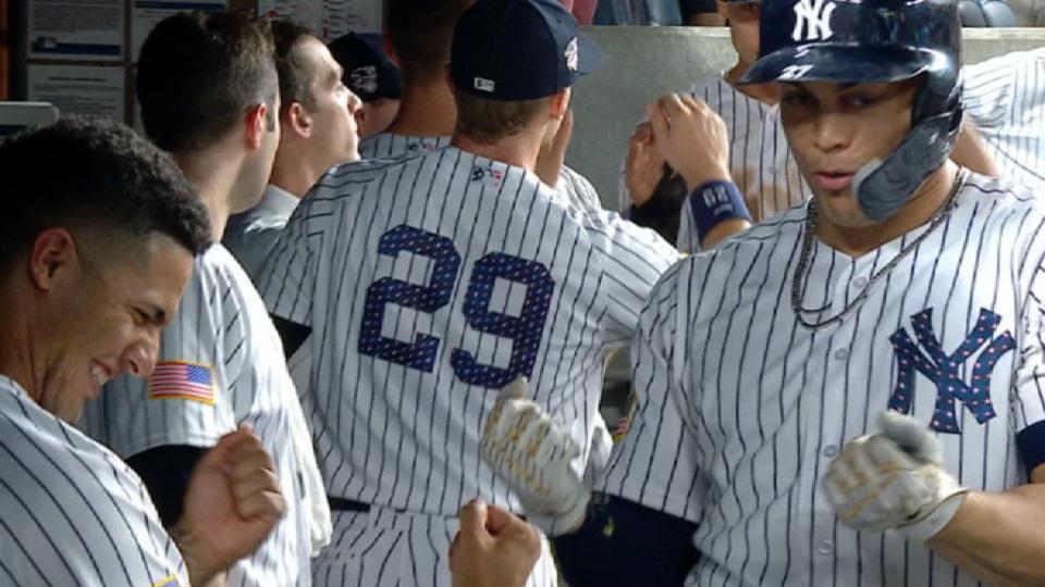 Stanton's 2-run home run