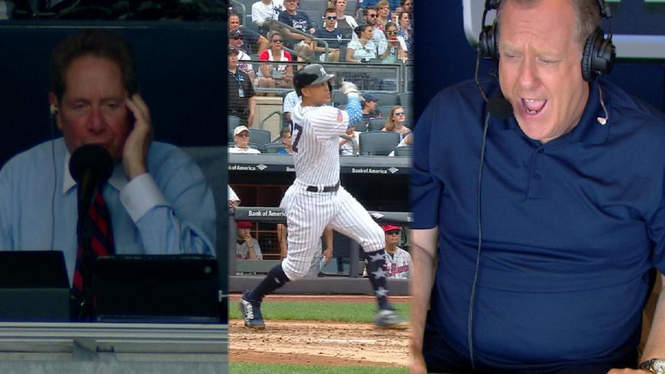 Kay, Sterling call Stanton homer