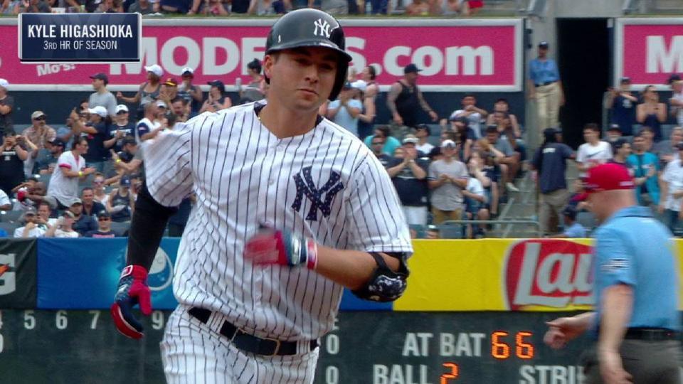 Higashioka's solo home run