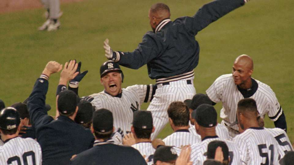 Leyritz's walk-off in Game 2