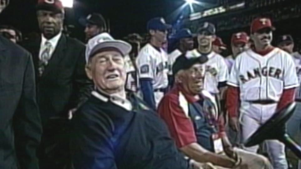 Ted Williams honored at ASG
