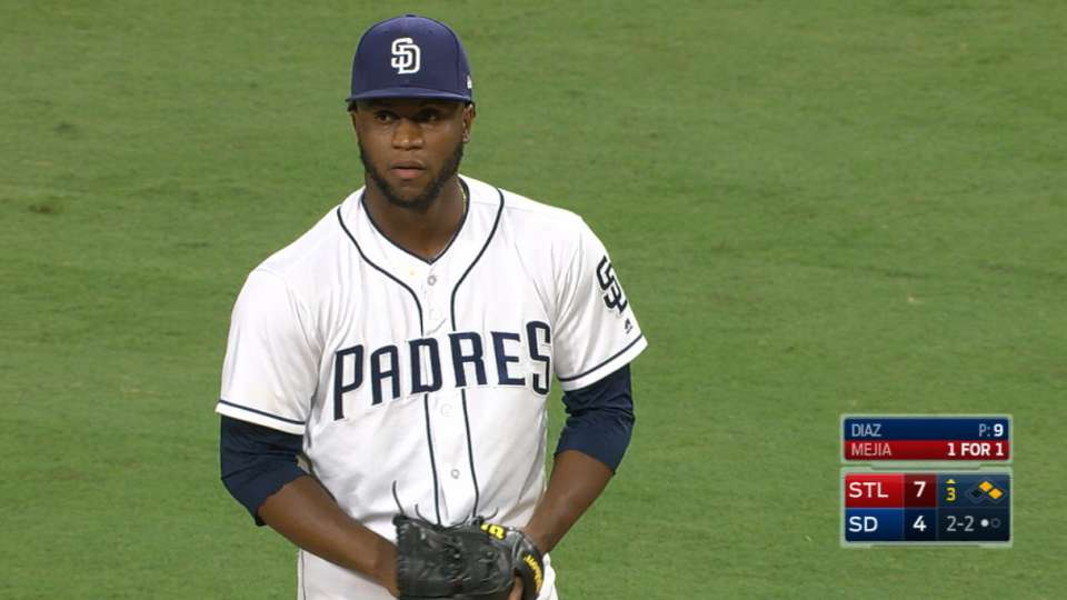 Diaz's strong relief appearance