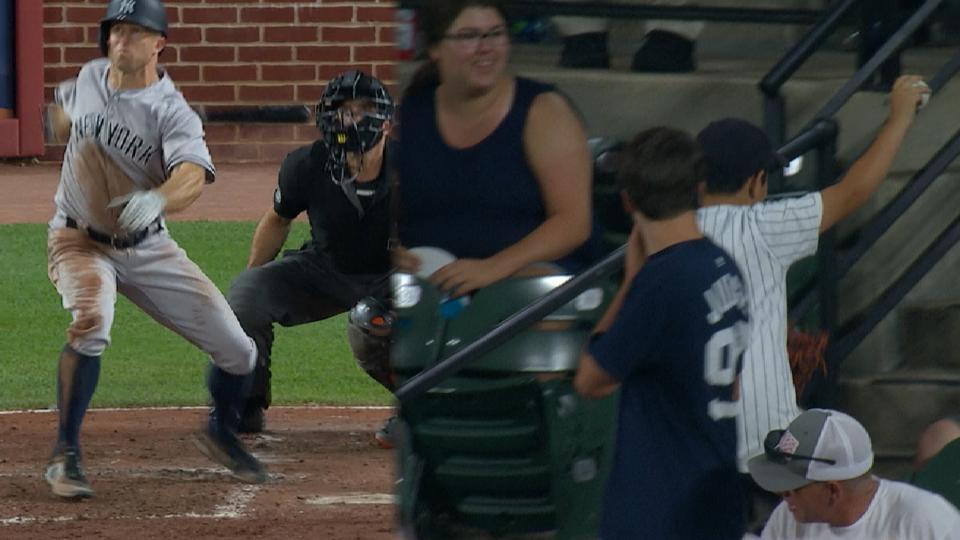 Gardner's 2-run homer