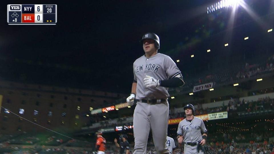 Romine's 2-run homer