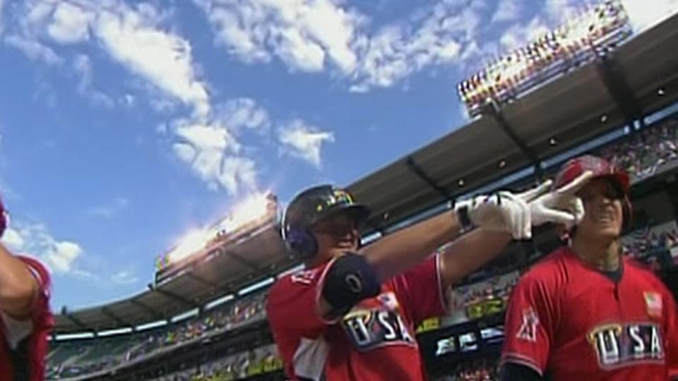 Conger's three-run home run