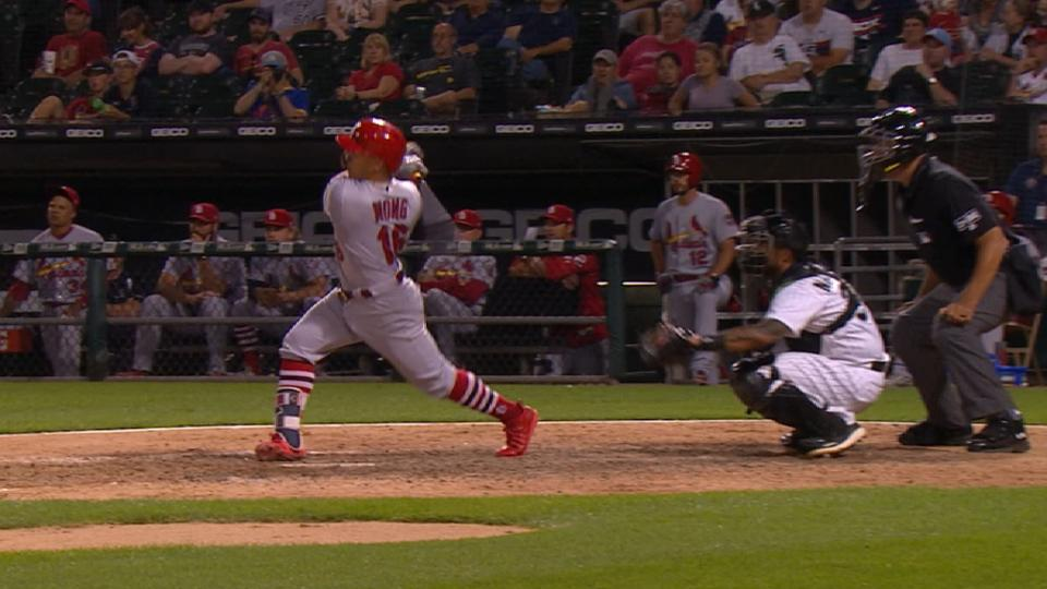 Wong homers in 4-hit day