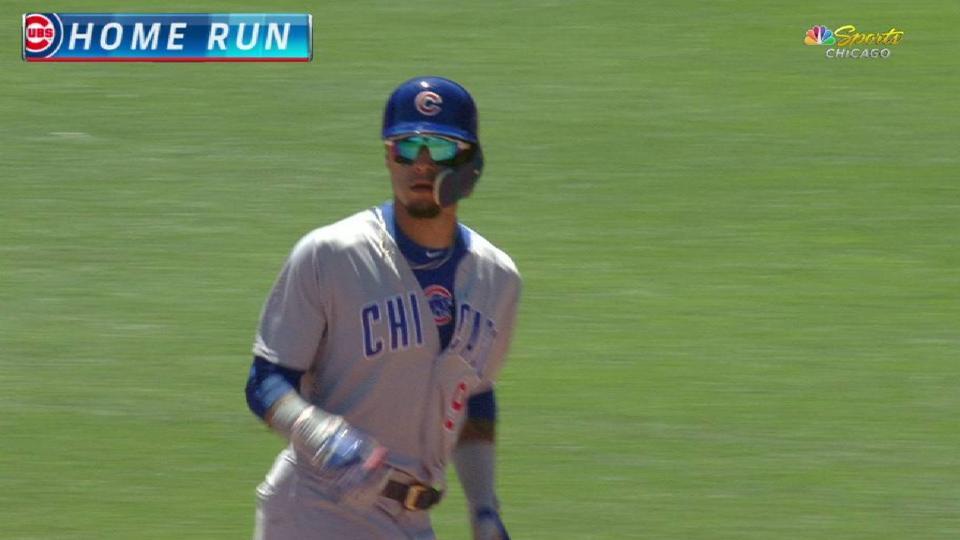 Baez's game-tying homer in 7th