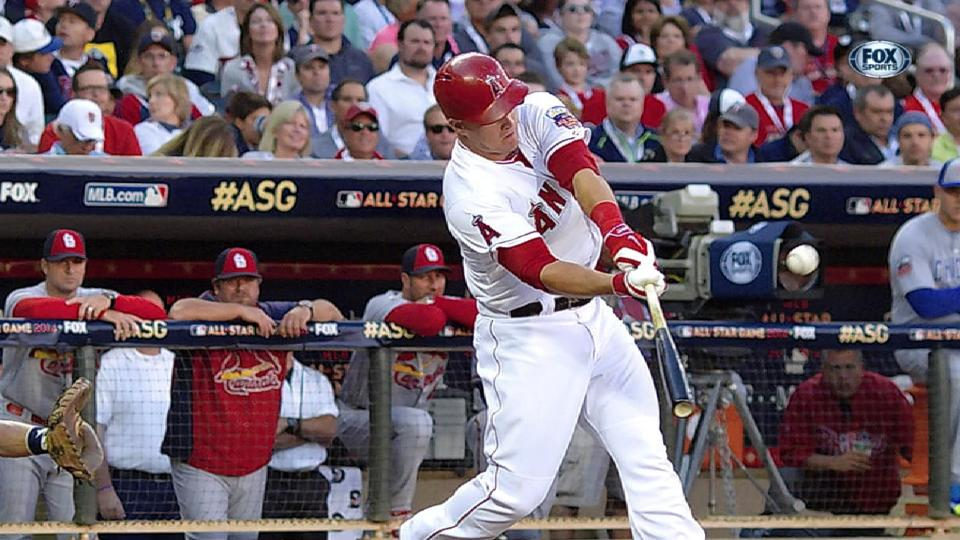 Trout's MVP performance