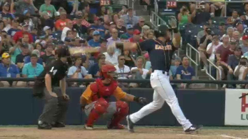 Tebow doubles in Minors ASG