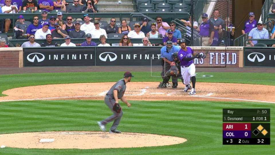 Ray K's Desmond to end threat