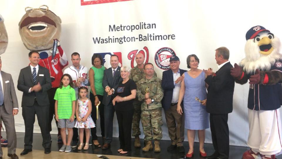 Nats at USO facility dedication