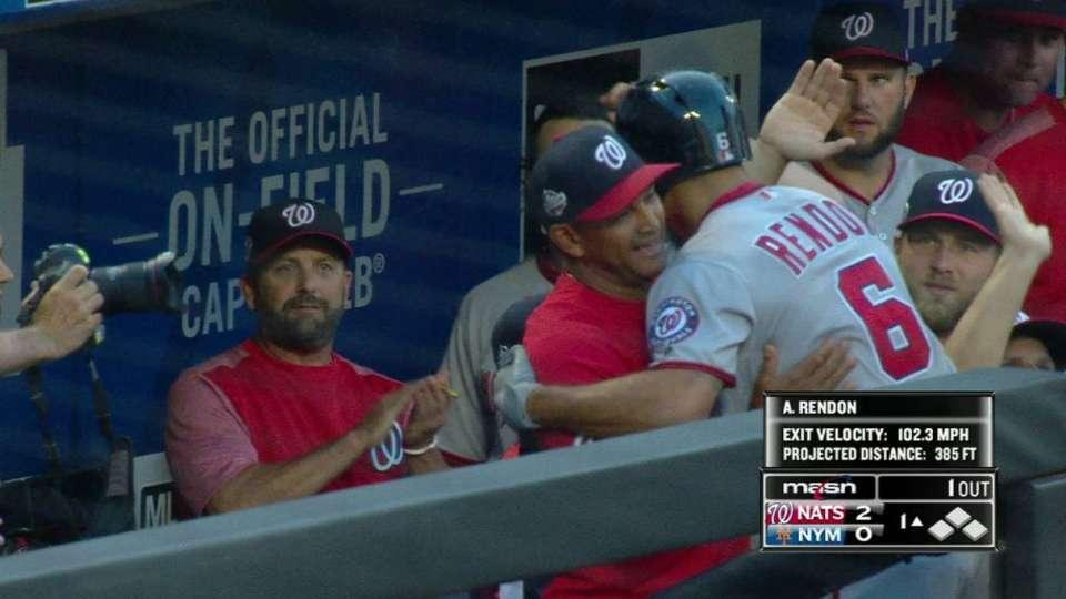 Rendon's 2-run home run