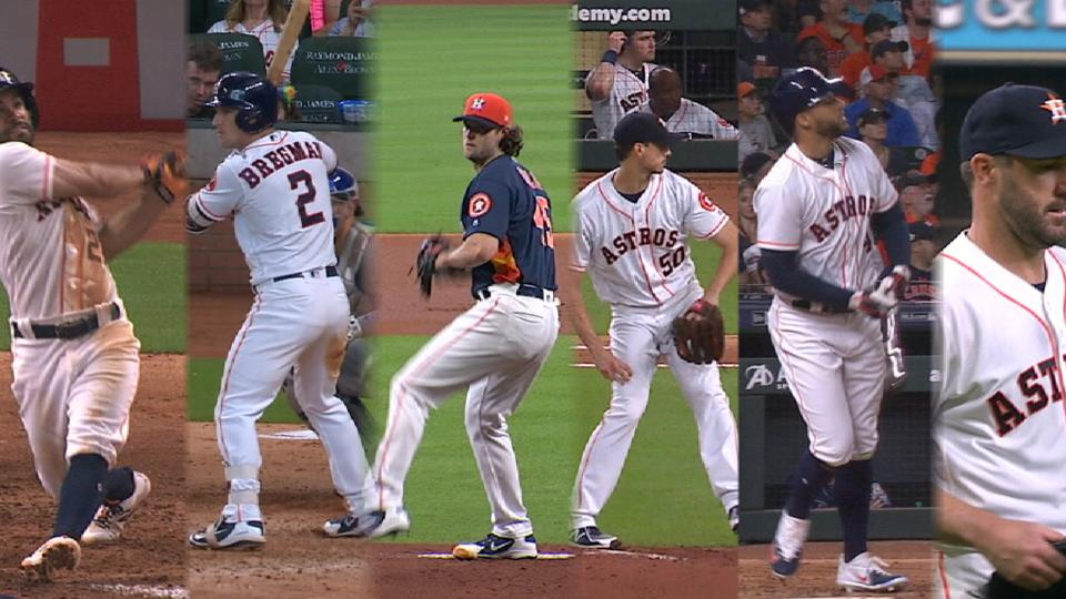 Six Astros make All-Star Game