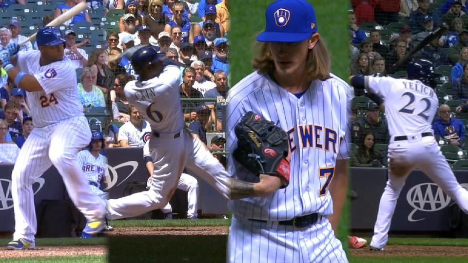 5 Brewers make the All-Star Game