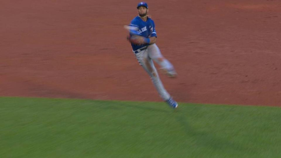 Gurriel's throw nabs Betts