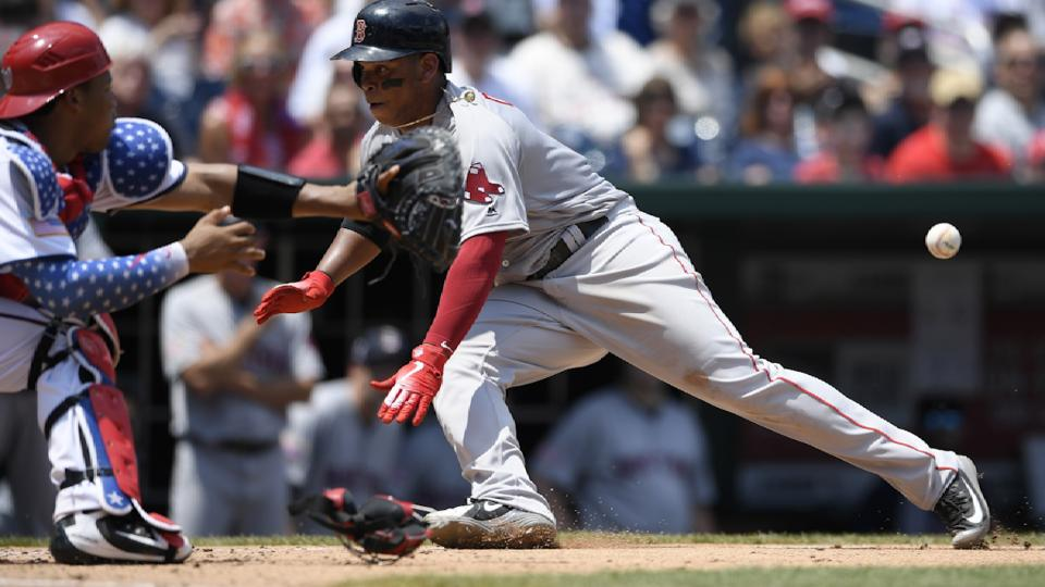Devers heads to disabled list