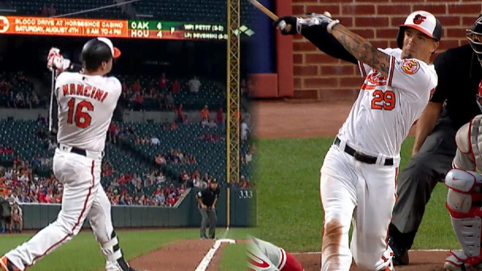 Orioles go back-to-back in 7th