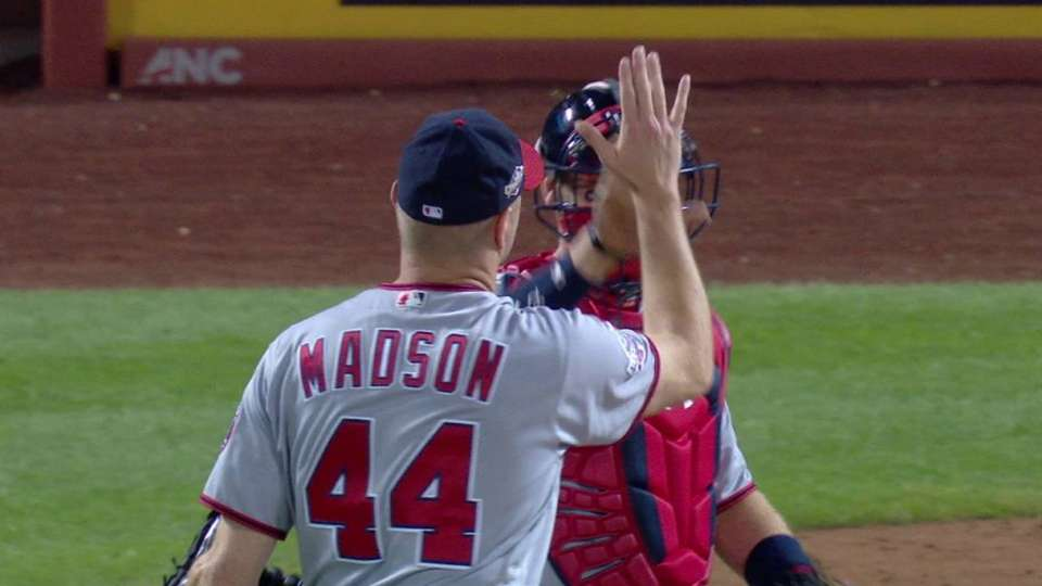 Madson induces DP to earn save