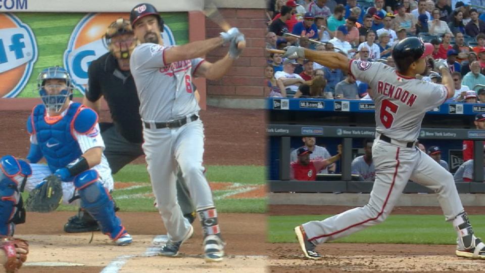 Rendon's 2-homer game vs. Mets