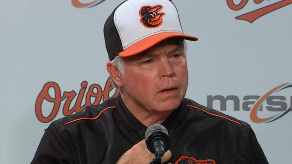 Showalter on loss to Phillies