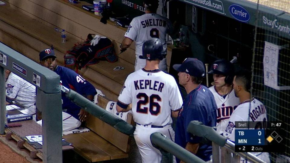 Kepler scores on a double play