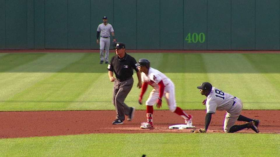 Lindor's record-breaking double