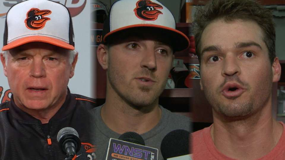 Orioles on the loss to Phillies