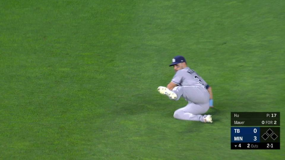 Kiermaier's sliding grab