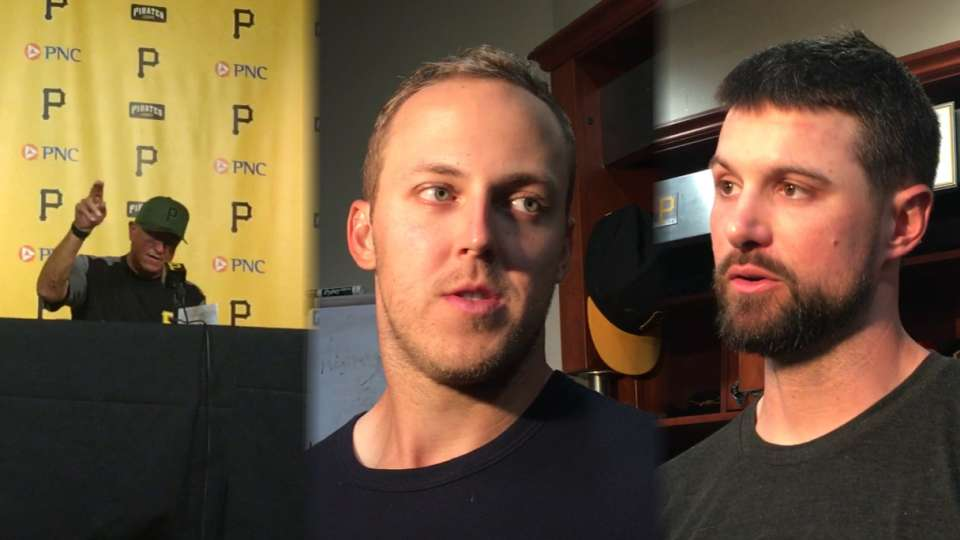 Pirates on win over Brewers