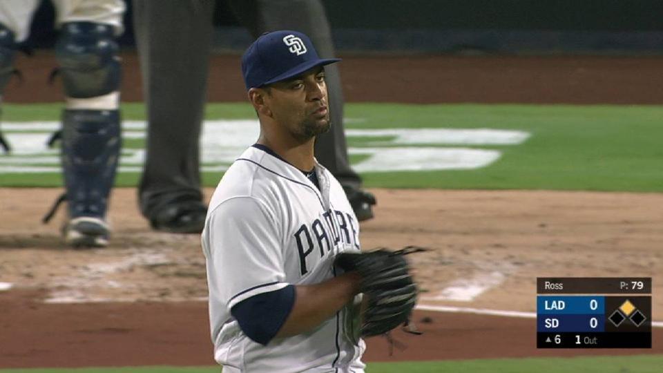 Ross loses no-hit bid in 6th