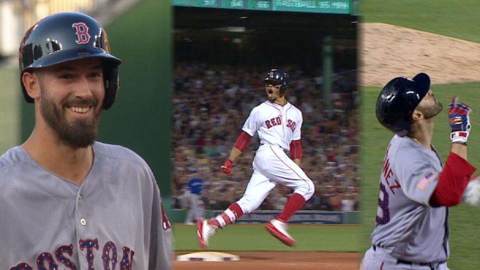 Red Sox win 10 in a row