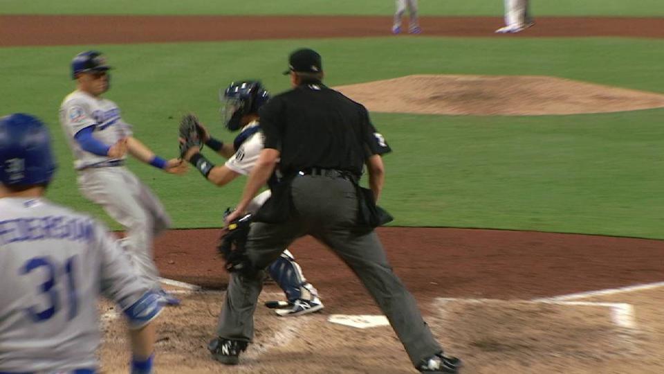 Myers' throw nabs Hernandez