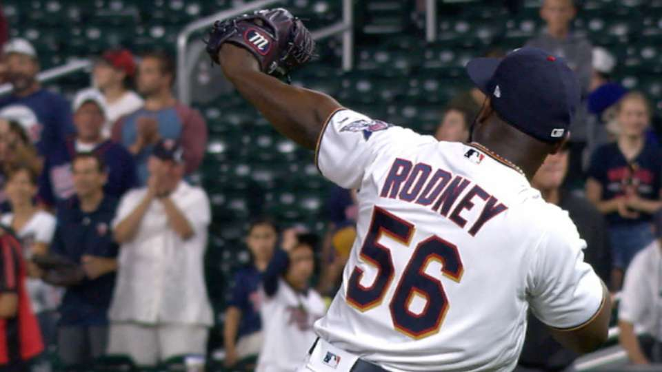 Rodney K's Duffy to earn save