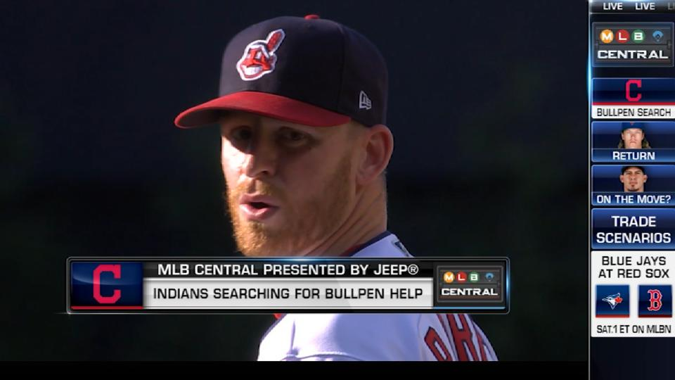 Morosi on Tribe's bullpen rumors