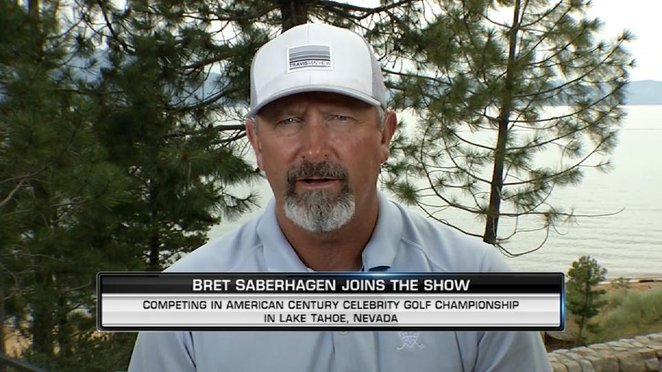 Saberhagen on his golfing career