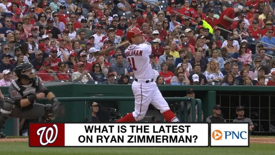 Zimmerman eyes return