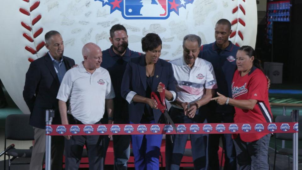 All-Star FanFest opens in D.C.