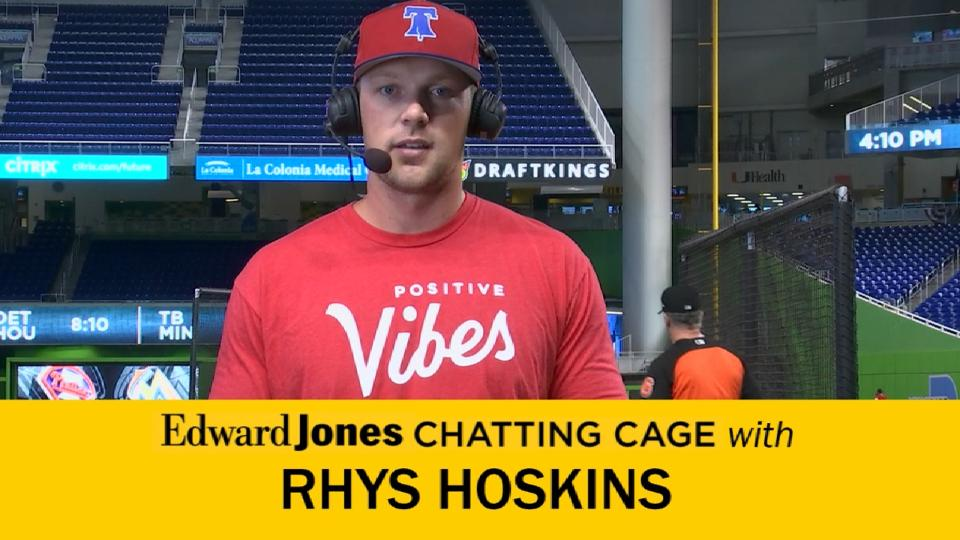 Hoskins on best advice received