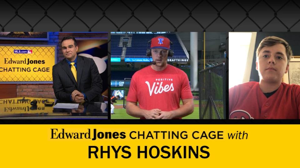 Chatting Cage: Rhys Hoskins