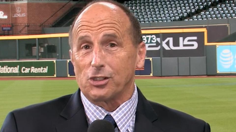 Justice on Astros' closer role