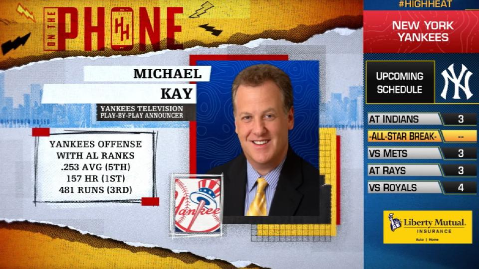 Michael Kay on the Yankees