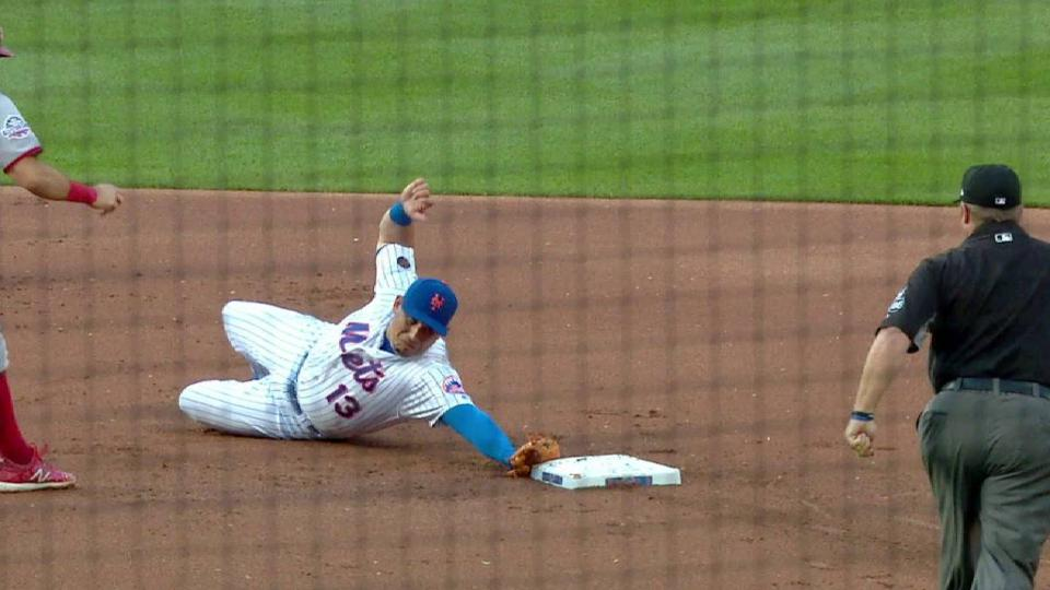 Cabrera's unassisted double play