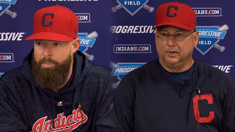 Kluber on opting out of ASG